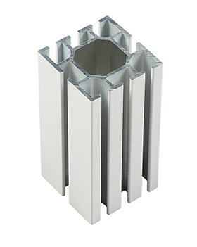 4分八槽方柱